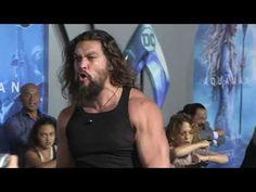 Jason Momoa led a massive red carpet haka at the premiere of Aquaman. Jason Momoa Haka, Jason Momoa Aquaman, Jason Moma, Dance Dance Revolution, Simon Pegg, You Go Girl, Cowboy Up, Big Men, Marvel Dc