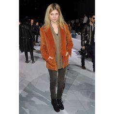 Chloé: Front Row - Paris Fashion Week Fall/Winter 2012  #ClémencePoésy #ClemencePoesy #fashion #style #model #muse #actress #film #art #ParisFashionWeek #FashionWeek #PFW #Paris #France #Chloé #Chloe @Chloe
