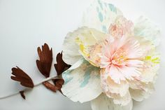 Paper to Petal: Craft Your Own Paper Flowers! at LuLus.com!
