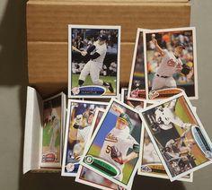 2012 Topps Baseball Series 1 Complete Set 330 Cards