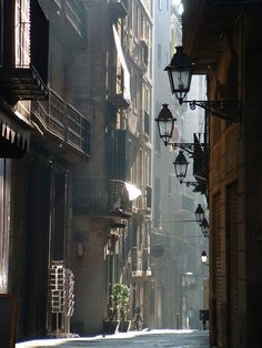 Lanterns, Barcelona, Spain