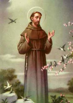 Saint Francis of Assisi was born Giovanni Francesco di Bernardone (1181 – 1226). Italian Catholic preacher, he founded the men's Franciscan Order, the women's Order of St. Clare and the lay Third Order of Saint Francis.