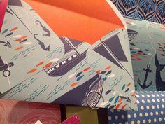 Cool boating illustration