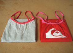 'So, Zo...': Refashion Friday Tips: How to Use T-shirts to make Vests / Camisoles /Singlets