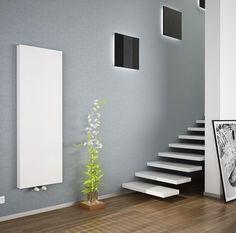 Copa verticale radiator T20 B300 H1600, 1179 watt, inclusief bevestigingsset, vlakke voorzijde