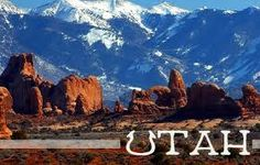 utah, one of the most beautiful states to drive thru!