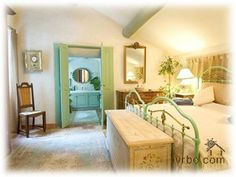 Remy de Provence Vacation Rental - entry doors to bathroom- duplicate anywhere if space allows St Remy, Entry Doors, Provence, Ideal Home, Villa, Vacation, Bed, House, Furniture