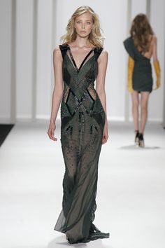 J. Mendel Fall 2012 Runway Look
