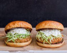 Japanese Ebi Burger