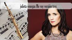 Partitura julieta venegas Me voy versión tres Saxofón Soprano