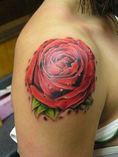 Are you an avid fan of tattoos? If you do, I know that you're very familiar with rose tattoo designs. These designs represents love and beauty. Tattoo Girls, Rose Tattoos For Girls, Girl Tattoos, Dream Tattoos, Armband Tattoo Design, Tattoo Sleeve Designs, Tattoo Designs For Women, Sleeve Tattoos, Rosen Tattoo Arm