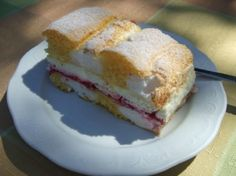 Kardinalschnitte...... Austrian Recipes, Austrian Food, Baking Recipes, Fondant, Sweet Tooth, Sandwiches, Food And Drink, Rolls, Favorite Recipes