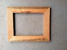 8.5x11 Oak Picture Frame