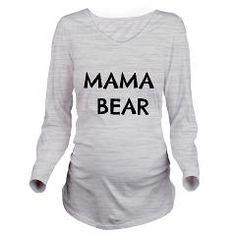 Mama Bear Long Sleeve Maternity T-Shirt - Maternity Shirts - Ideas of Maternity Shirts - Mama Bear Long Sleeve Maternity T-Shirt Pregnancy Humor, Pregnancy Shirts, Pregnancy Clothes, Pregnancy Tips, Pregnancy Wardrobe, Cute Maternity Shirts, Funny Maternity, Bump Style, Look Chic