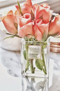 DIY Chanel Perfume Bottle Vase