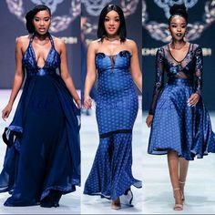 African Traditional Wedding Dress, African Wedding Dress, African Dress, Traditional Dresses, Zulu Wedding, Wedding Attire, African Print Fashion, Africa Fashion, Navy Blue Wedding Cakes