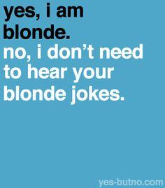 Being A Blonde 16