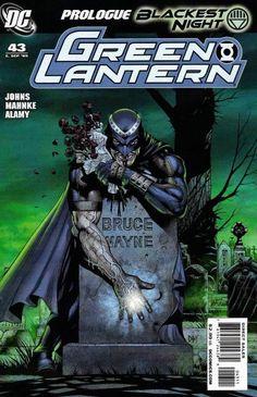 Green Lantern #43 - Blackest Night Prologue: Tale of the Black Lantern (Issue)