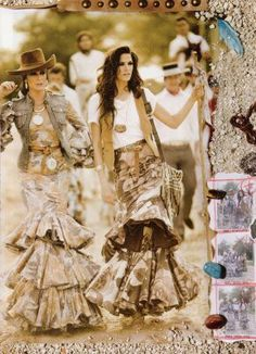 Spanish style – Mediterranean Home Decor Boho Chic, Bohemian Mode, Bohemian Style, Fashion Mode, Boho Fashion, Fashion Outfits, Womens Fashion, Fashion Design, Gypsy Style
