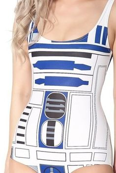 Or part of a pair…. | 22 Gloriously Geeky Swimsuits To Wear This Summer