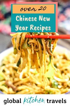 Chinese New Year Recipes including noodle recipes, traditional desserts, tasty appetizers like Scallion Pancakes and more! and a downloadable printable to teach your families and kids about the significance and history of Chinese New Year #recipes #homeschooling Scallion Pancakes, Pasta Noodles, Noodle Recipes, Yummy Appetizers, Chinese New Year, Chinese Food, Homeschooling, Families, Good Food