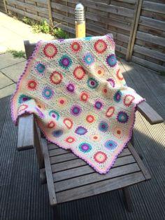 Sale Sale10% OFF Great Gift Lovely hand crochet blanket/ Lap/ Decor