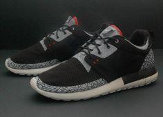 nike roshe run air jordan iii custom Nike Roshe Run Air Jordan III by JP Custom Kicks