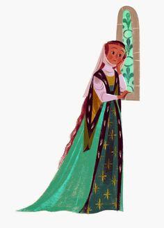 Illustration by Annette Marnat Female Character Design, Character Design References, Character Design Inspiration, Character Concept, Character Art, Concept Art, Animation Character, Art And Illustration, Illustration Design Graphique