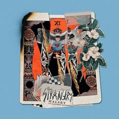 """""""Strangers"""" by Halsey Lauren Jauregui was added to my Today's Top Hits playlist on Spotify Halsey Album, Halsey Songs, Funcionalidades Do Photoshop, Hopeless Fountain Kingdom, Lilac Sky, Album Cover Design, Tumblr, Cool Posters, Retro Posters"""