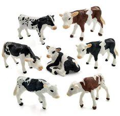 Farm poultry Kawaii Simulation mini milk Cow Cattle Bull Calf plastic Ox animal model figurine toy figures home Decor decoration Cow Appreciation Day, Miniature Cows, Cow Toys, Mini Cows, Mini Milk, Kawaii, Plastic Animals, Rind, Cattle