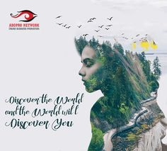 Discover the world & the World will Discover you... visit us: www,www.addpronetwork.com/ #discover #explore #creativedesign #onlinemarketing