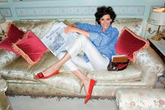 Ines de la fressange | Inès de la Fressange mostra em livro os segredos do charme francês