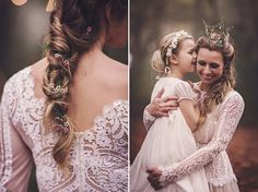 Magical Midsummers Night Dream Wedding Inspiration<<<< I love this dress.