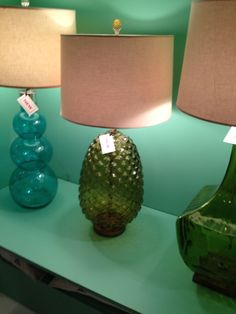 Highpoint Market Spring 2012-Gorgeous Over-scaled glass lamps by Julian Chichester