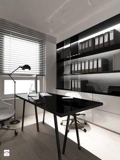 Gabinet styl Nowoczesny - zdjęcie od AJOT pracownia projektowa - Gabinet - Styl Nowoczesny - AJOT pracownia projektowa