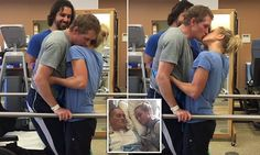 Video of Navy SEAL with brain injury kissing his wife goes viral -   Four months after suffering a catastrophic brain injury from a car accident, a Navy SEAL has stood up again with the help of his doting wife — and... See more at https://www.icetrend.com/video-of-navy-seal-with-brain-injury-kissing-his-wife-goes-viral/