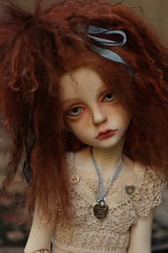 dollstown-Seola 7 via pure country girl Pretty Dolls, Beautiful Dolls, Country Girls, Country Style, Beautiful Fantasy Art, An Elf, Pink Grapefruit, Doll Repaint, Ball Jointed Dolls