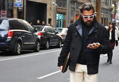 Street Style NYFW Fall 2015  Photo : Tommy Ton
