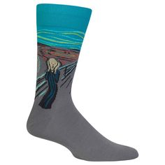 Hot Sox Men's The Scream Sock
