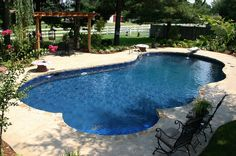 Beauty in vinyl by Burton Pools & Spas, Fort Smith, AR