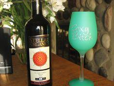 Organic wine!