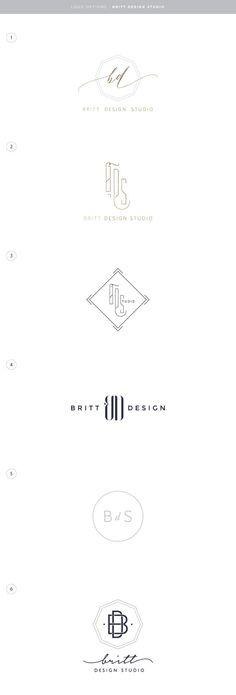 Britt Design Studio, branding, logo design, logo, design logo, design, interior design