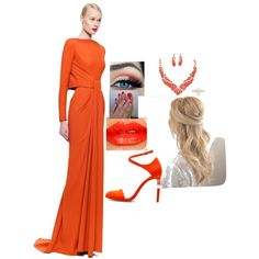 Tangerine by sarabray on Polyvore featuring polyvore fashion style