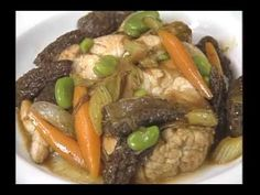 Great Chef Daniel Boulud and his Sweetbreads with Chamomile, Morels, Peas, and Fava Beans - YouTube