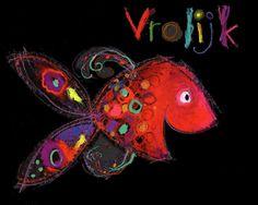 Visje met veel emoties, mooi weergegeven. Goed te gebruiken voor kinderen die emoties benoemen lastig vinden.