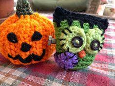 Fiddlesticks - My crochet and knitting ramblings. Crochet pumpkin and Frankenowl .....