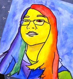 For the Love of Art: 6th Grade: Pop Art Portraits