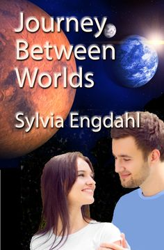 Science fiction novel about the colonization of Mars, enjoyed by both YA romance readers and adults who wonder what living on Mars might be like in the future. This cover is for the new ebook edition of Journey Between Worlds by Sylvia Engdahl published in 2015.