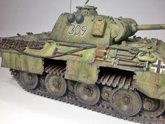 Panzerkampfagen V Panther - 1:35 by Daz