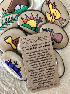 Field Day Games For Kids Discover Passion of Jesus Easter Story Stones Resurrection Story Stones Jesus Story Stones Easter Basket gift Story Rocks Easter Gift Baskets, Basket Gift, Jesus Suffering, Story Starter, Hand Painted Rocks, Painted Pebbles, Painted Stones, Easter Story, Jesus Stories